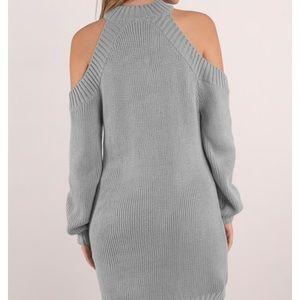 Tobi Dresses - Grey sweater dress